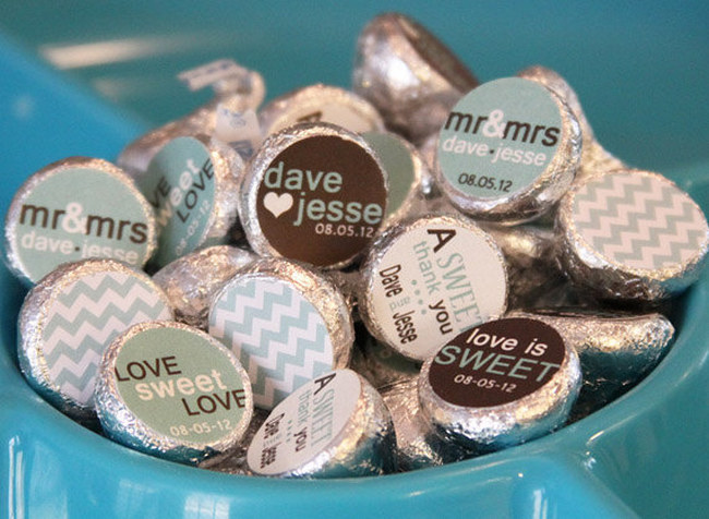 Hershey Kisses Wedding Favors Ideas Gallery Decoration