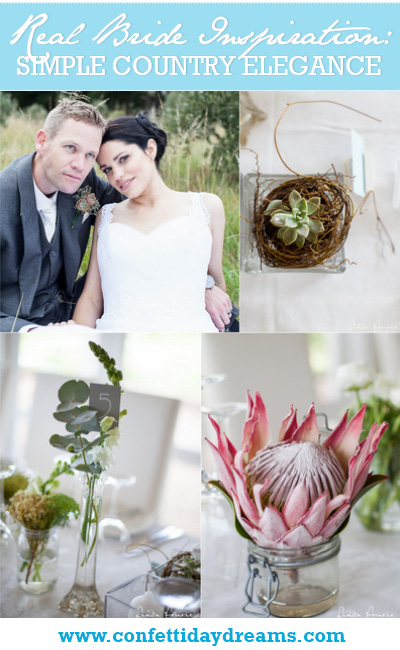 Simple Country Elegance, Stanford Valley Wedding South Africa