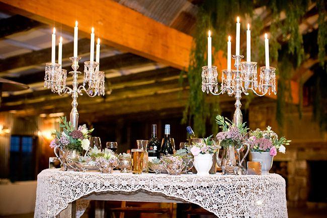 Baby's Breath & Succulents - South African Farm Wedding