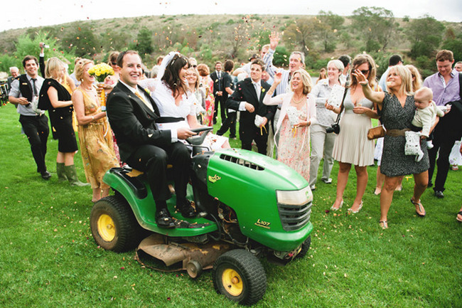 Country Chic Yellow & Green Wedding
