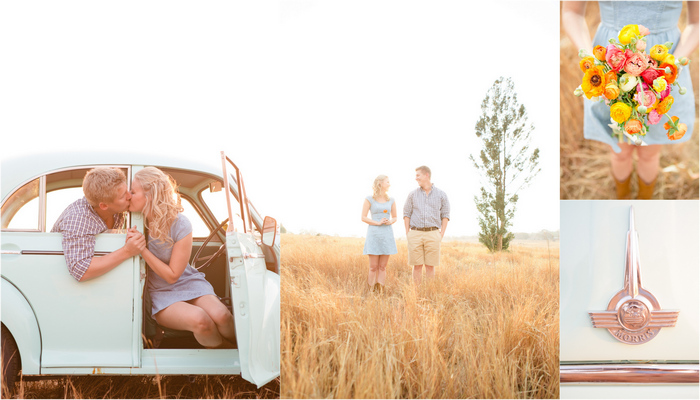 Fields of Love Shoot – Outdoor Engagement Session {Carolien and Ben}