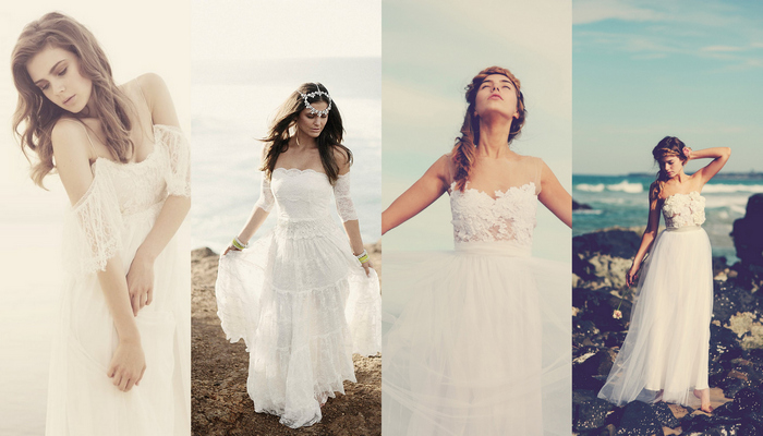 Grace Loves Lace Bohemian Wedding Dresses + Interview