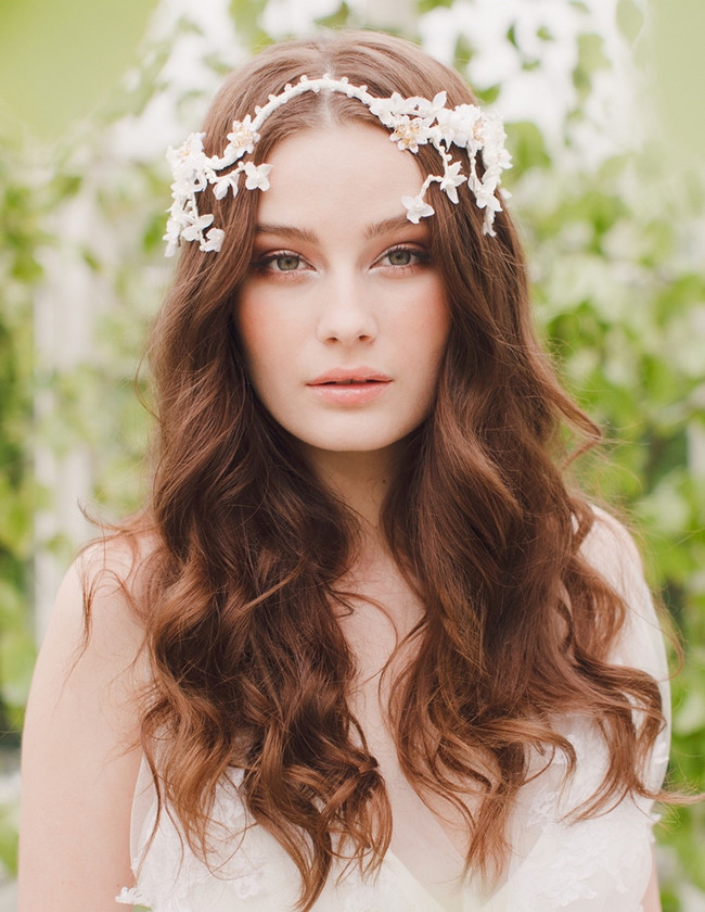 Jannie Baltzer 2014 Bridal Headpiece Collection | Harper