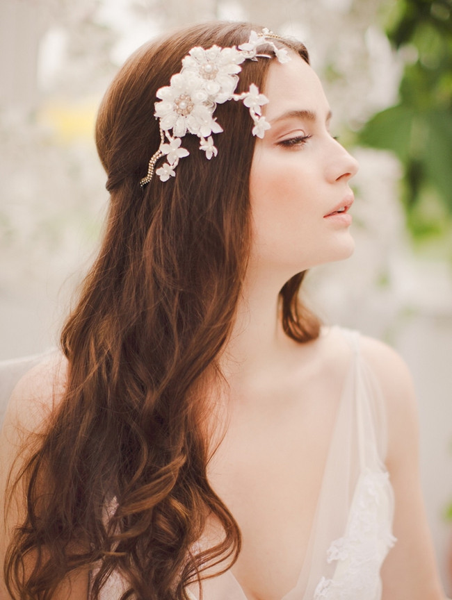 Jannie Baltzer 2014 Bridal Headpiece Collection | Eloise