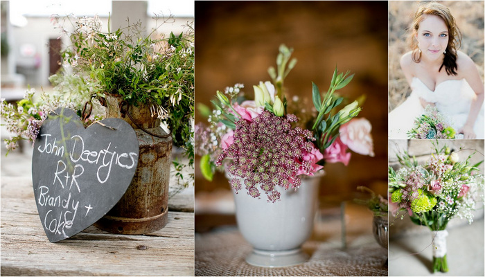 Baby's Breath & Succulents – South African Farm Wedding