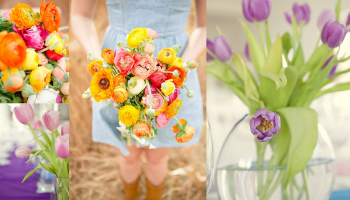 Choosing Your Spring Wedding Bouquet