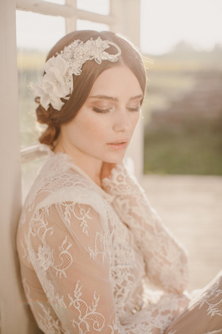 Jannie Baltzer 2014 Bridal Headpiece Collection | Mia