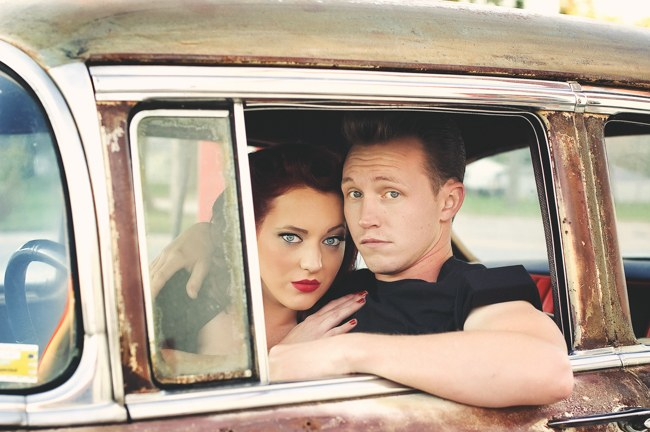 1950s Styled Engagement Shoot Neelys Photography 034