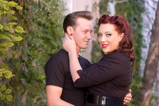 1950s Styled Engagement Shoot Neelys Photography 057