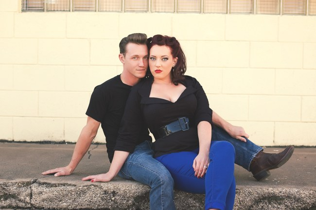 1950s Styled Engagement Shoot Neelys Photography 059