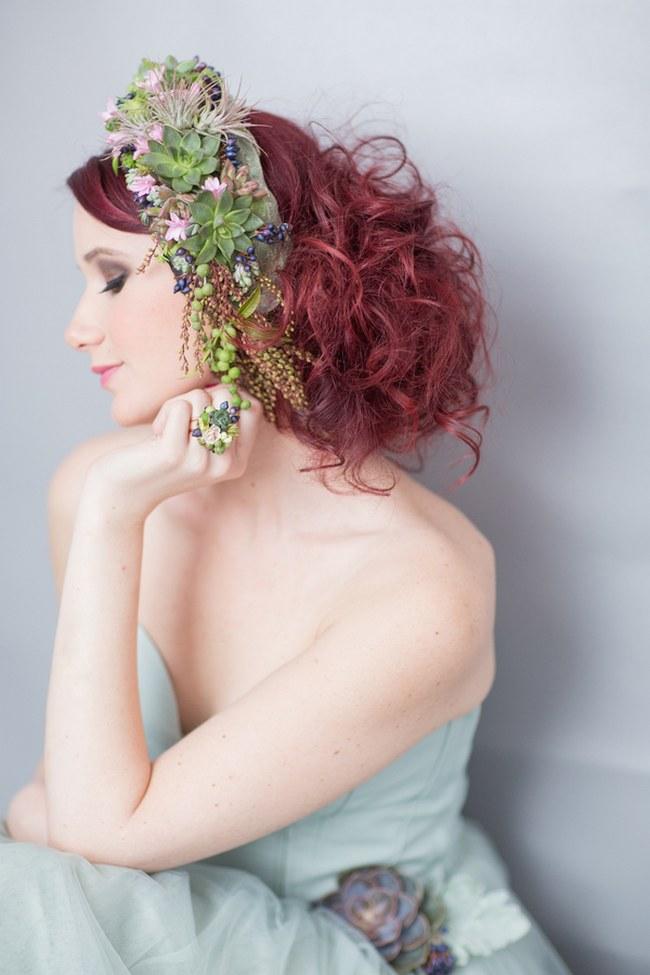 _Bohemian Bridesmaid Inspiration Powder Blue Flower Crown 024