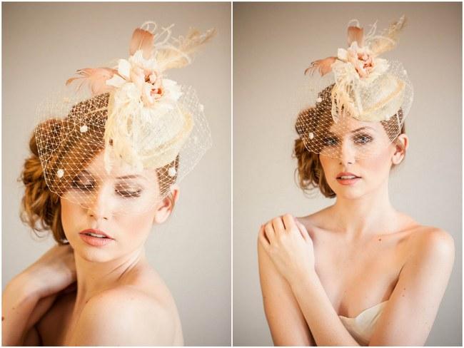 Mignonne Handmade 2014 Bridal Headpiece Collection 1
