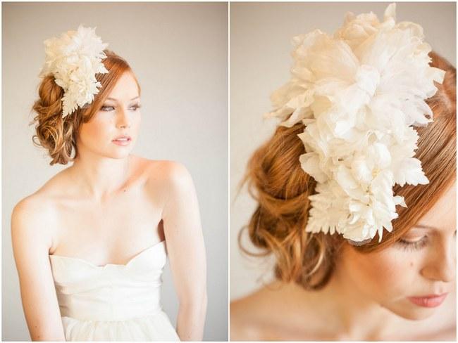 Mignonne Handmade 2014 Bridal Headpiece Collection 2