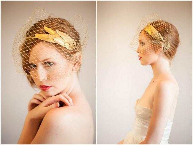 Mignonne Handmade 2014 Bridal Headpiece Collection 3