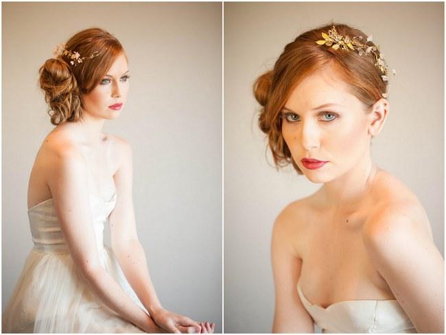 Mignonne Handmade 2014 Bridal Headpiece Collection 4