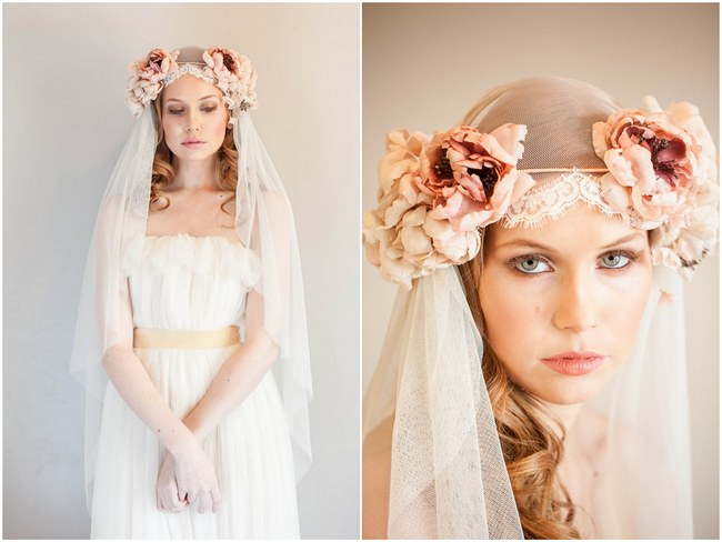 Mignonne Handmade 2014 Bridal Headpiece Collection 6