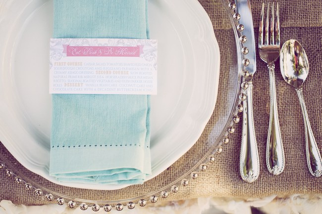 Peach Cream Rustic Country Ruffles & Lace Wedding 19
