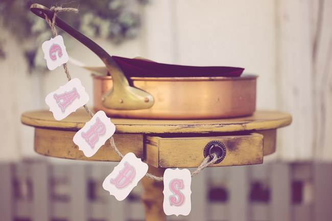 Peach Cream Rustic Country Ruffles & Lace Wedding 40