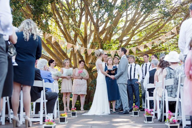Shabby Chic Country Style Pink Wedding Australia Jani Montville Hall B Photography (11)