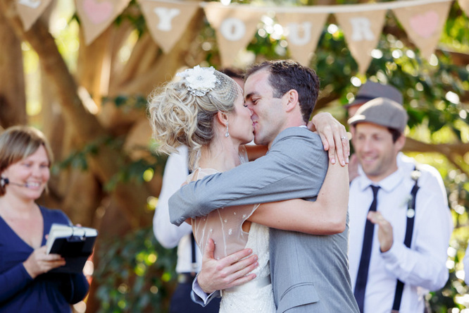 Shabby Chic Country Style Pink Wedding Australia Jani Montville Hall B Photography (13)