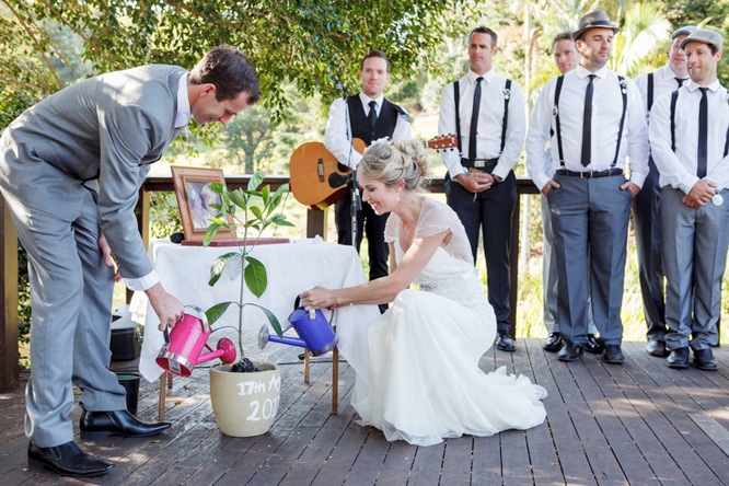 Shabby Chic Country Style Pink Wedding Australia Jani Montville Hall B Photography (14)