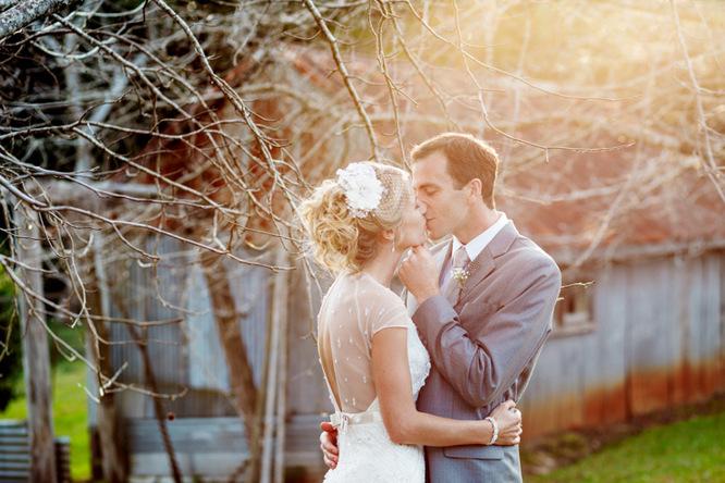 Shabby Chic Country Style Pink Wedding Australia Jani Montville Hall B Photography (16)