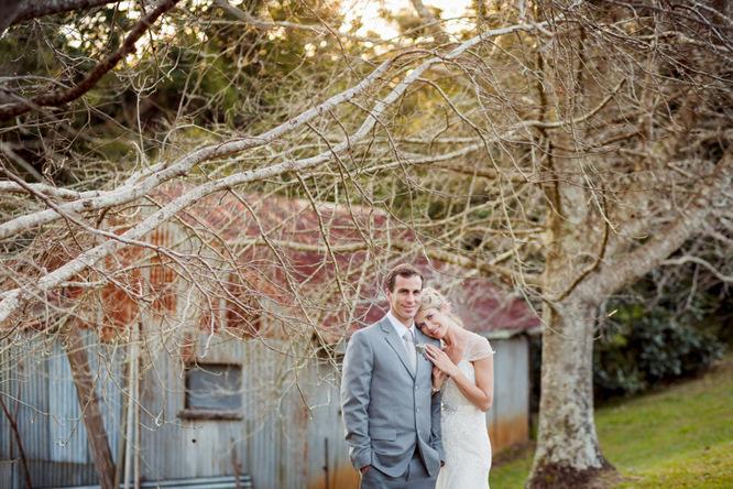 Shabby Chic Country Style Pink Wedding Australia Jani Montville Hall B Photography (18)