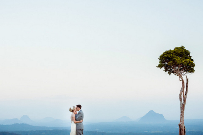 Shabby Chic Country Style Pink Wedding Australia Jani Montville Hall B Photography (20)
