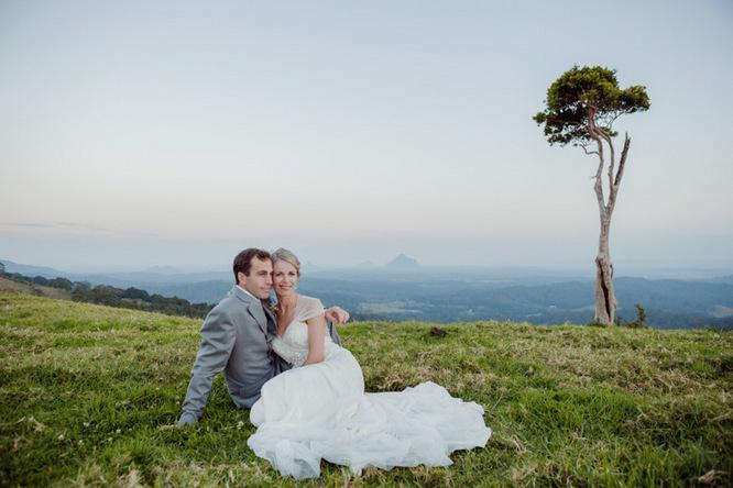 Shabby Chic Country Style Pink Wedding Australia Jani Montville Hall B Photography (22)
