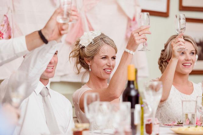 Shabby Chic Country Style Pink Wedding Australia Jani Montville Hall B Photography (24)
