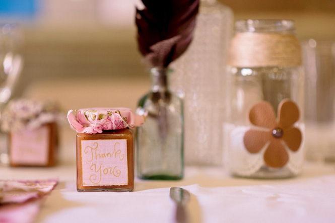 Shabby Chic Country Style Pink Wedding Australia Jani Montville Hall B Photography (26)