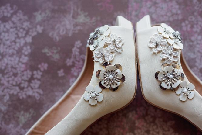 Shabby Chic Country Style Pink Wedding Australia Jani Montville Hall B Photography (3)