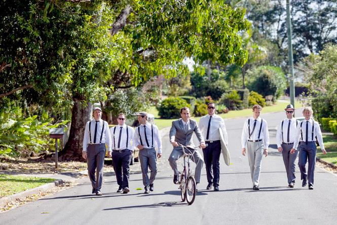 Shabby Chic Country Style Pink Wedding Australia Jani Montville Hall B Photography (31)