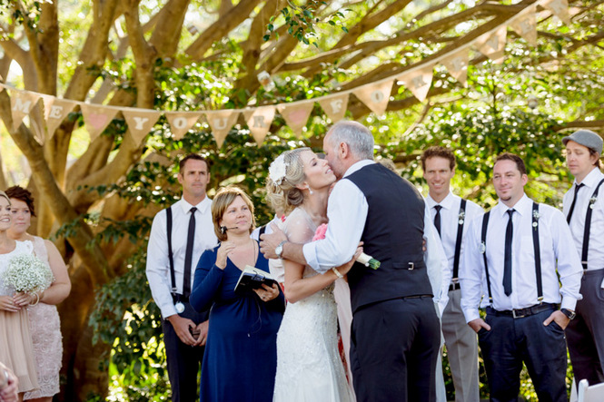 Shabby Chic Country Style Pink Wedding Australia Jani Montville Hall B Photography (34)