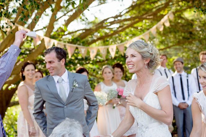 Shabby Chic Country Style Pink Wedding Australia Jani Montville Hall B Photography (37)