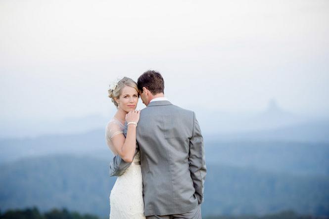 Shabby Chic Country Style Pink Wedding Australia Jani Montville Hall B Photography (38)