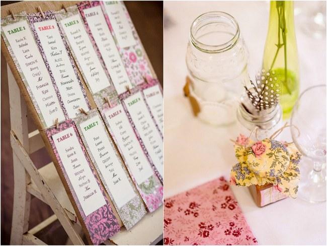 Shabby Chic Country Style Pink Wedding Australia Jani Montville Hall B Photography (42)