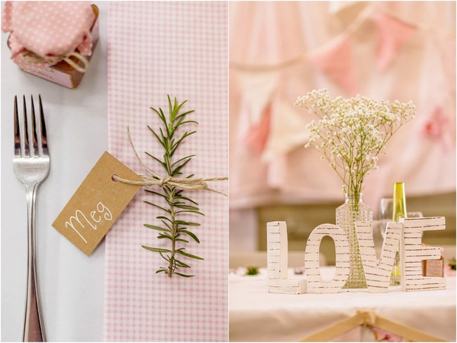 Shabby Chic Country Style Pink Wedding Australia Jani Montville Hall B Photography (44)