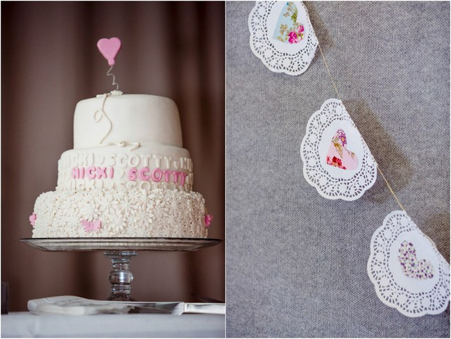 Shabby Chic Country Style Pink Wedding Australia Jani Montville Hall B Photography (45)