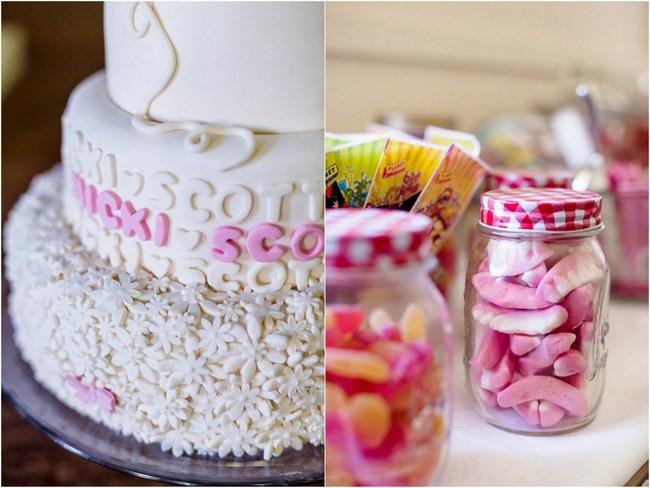 Shabby Chic Country Style Pink Wedding Australia Jani Montville Hall B Photography (46)
