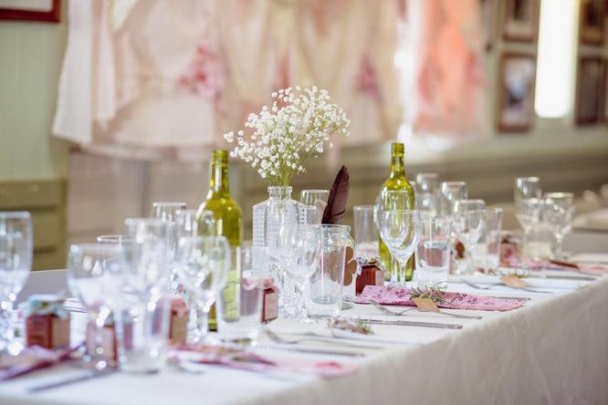 Shabby Chic Country Style Pink Wedding Australia Jani Montville Hall B Photography (49)