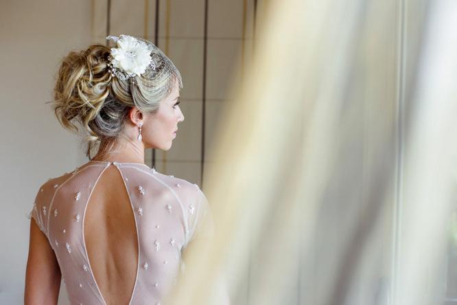 Shabby Chic Country Style Pink Wedding Australia Jani Montville Hall B Photography (6)