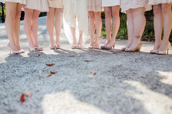 Shabby Chic Country Style Pink Wedding Australia Jani Montville Hall B Photography (8)
