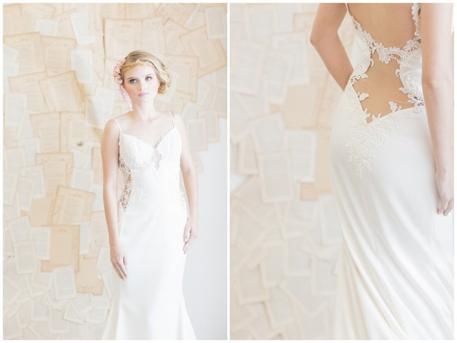 Backless Wedding Dress Gown (2)