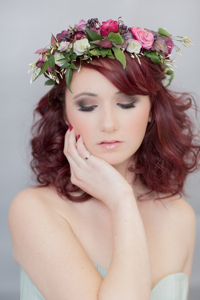 flower wedding crown fab flower crowns and floral wreaths 4230