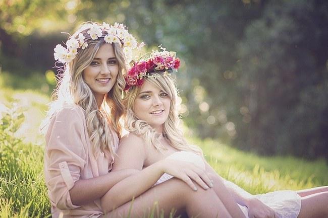 Flower Crowns Floral Wreath Bridal (19)