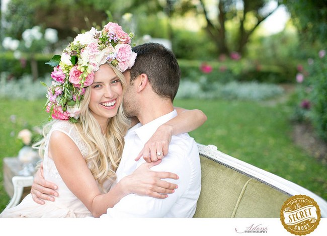 Flower Crowns Floral Wreath Bridal (2)