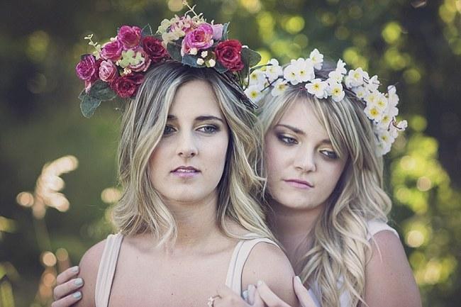 Flower Crowns Floral Wreath Bridal (21)