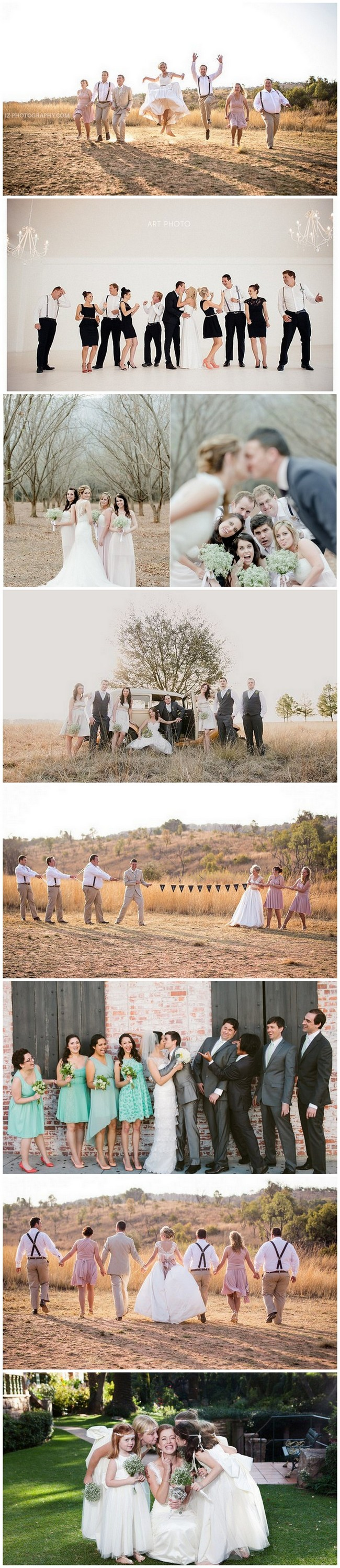 Fun Bridal Party Photo Ideas https://www.confettidaydreams.com/wedding-photo-ideas-and-poses-for-your-wedding-party/