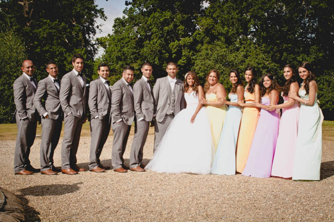 Gorgeous, Glam Fairytale Wedding at Botleys Mansion (7)
